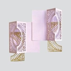 Spellbinders December Amazing Paper Grace Die of the Month is Here – Softly Spoke'n Flip and Gatefold Card. Believe in Yourself Handmade Card. Step 3