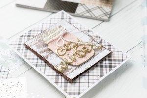 Spellbinders Card Club Kit Extras! December Edition - Cozy Winter Handmade Card