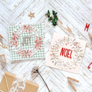 Exquisite Splendor Inspiration | Holiday Tags and Cards by Rebecca Luminarias for Spellbinders