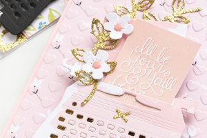 You're My Type - Spellbinders January 2019 Card Kit of the Month Typewriter Die Cards. I'll Be You'll & You'll Be Mine Card by Yana Smakula for Spellbinders