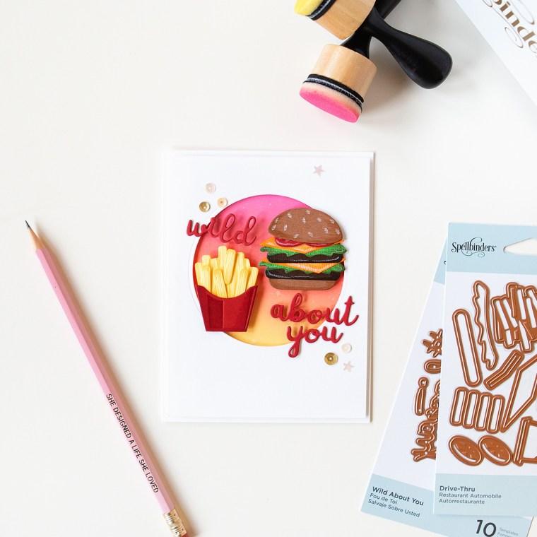 Spellbinders Die D-Lites Inspiration | Trio of Cute Cards with Jung AhSang - Drive-Thru