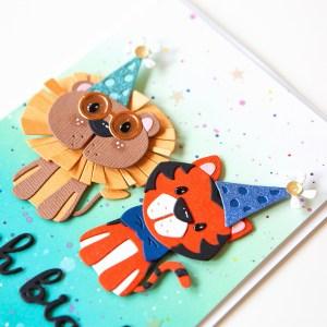 Spellbinders Die D-Lites Inspiration | Trio of Cute Cards with Jung AhSang