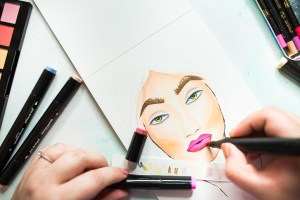Jane Davenport NEW Artomology | Face Coloring with Mona Toth for Spellbinders