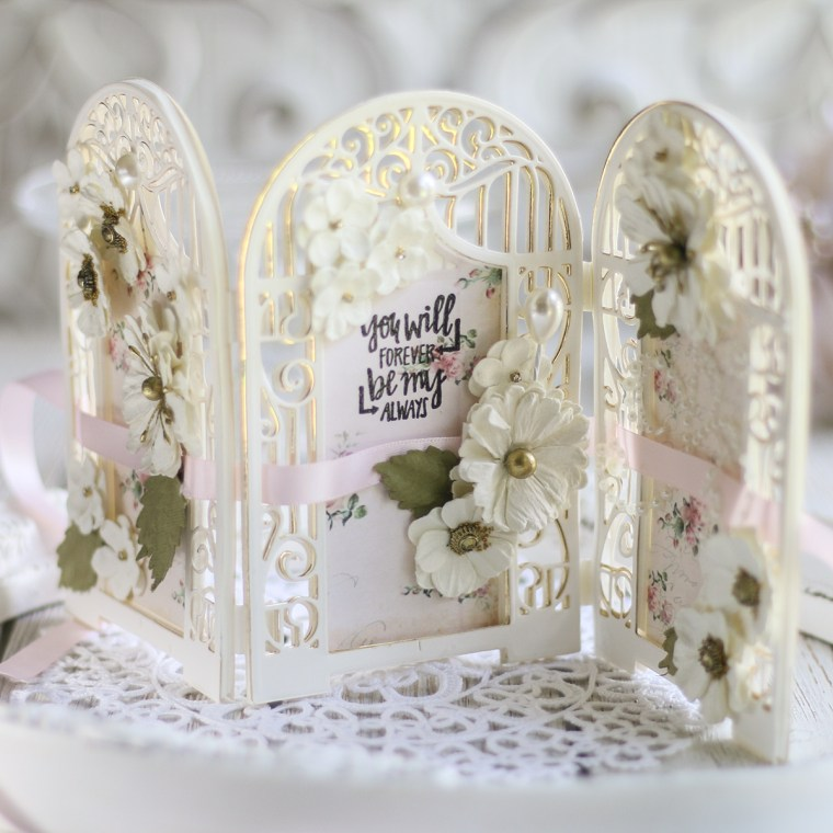 Spellbinders July 2019 Amazing Paper Grace Die of the Month is Here – Graceful Concertina