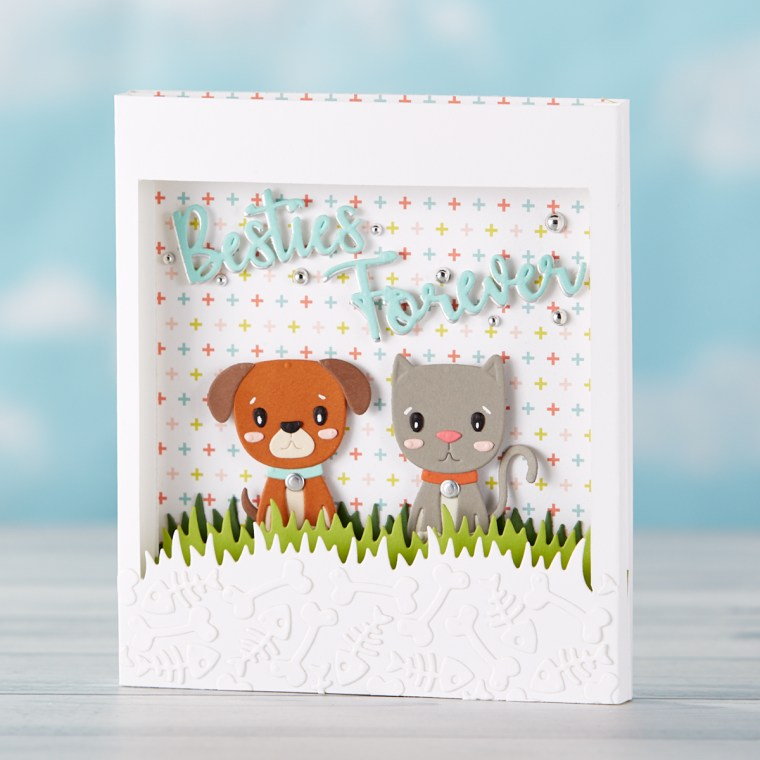 Spellbinders July 2019 Small Die of the Month is Here – Besties Forever