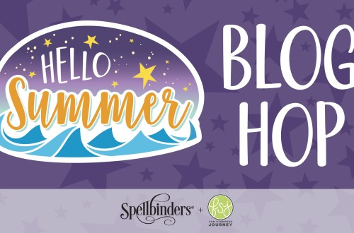 Fun Stampers Journey Hello Summer - Starry Night & Splash Zone Collections. Blog Hop + Giveaway