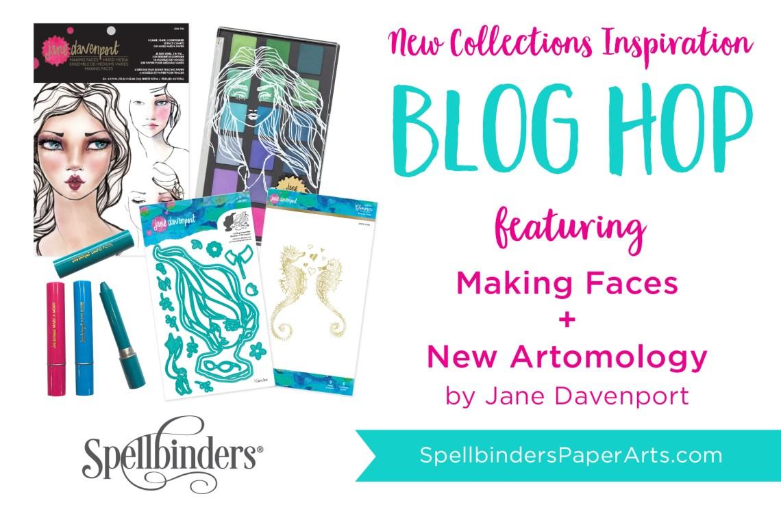 Jane Davenport NEW Artomology & Making Faces. Blog Hop + Giveaway