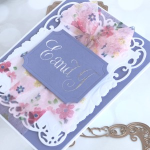 PA Scribe by Paul Antonio Inspiration | Foiled Cards with Brenda