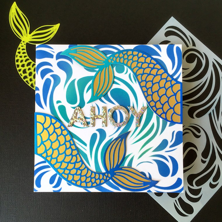 Hello Summer Inspiration   Make Waves Cards with Jean Manis for Spellbinders & FSJ