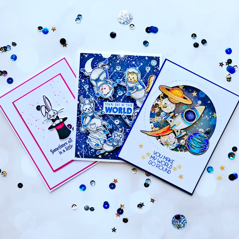 Hello Summer Inspiration | Starry Night Cards with Brenda