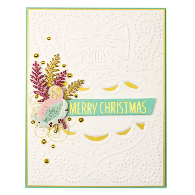 Classic Christmas Cut and Emboss Folder Holiday 2019 Collection