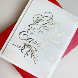 Spellbinders Paul Antonio Holiday 2019 Collection - Inspiration | A Clean and Simple Christmas with Laurie Willison