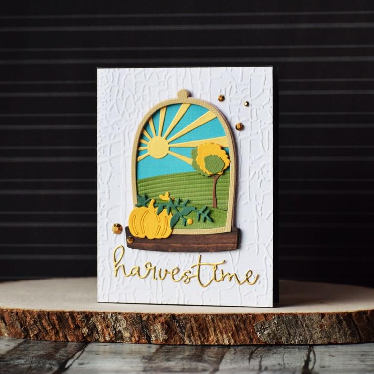 Spellbinders Scenic Snapshots Collection Inspiration   Card Ideas by Varada Sharma