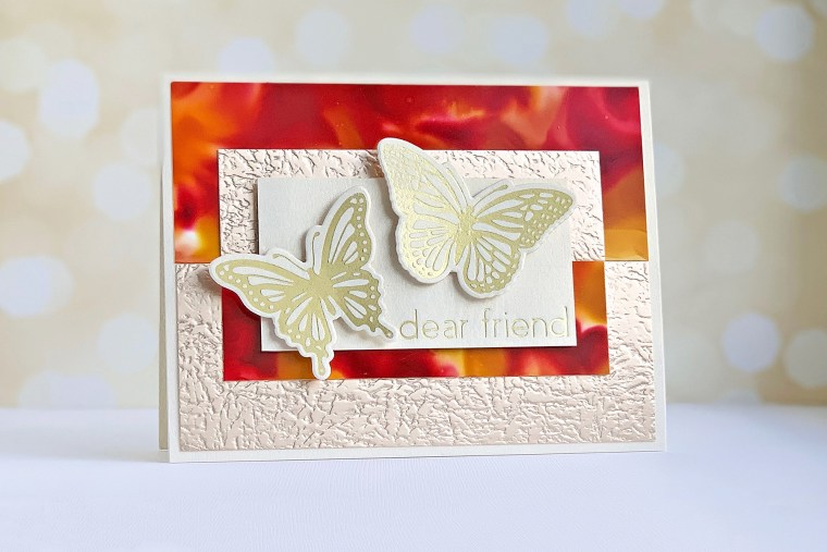 Spellbinders October 2019 Glimmer Plates Inspiration | Autumn Card Trio by Niki Coursey