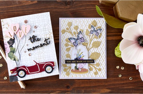 Spellbinders January 2020 Card Kit of the Month is Here – Love The Moment #SpellbindersClubKits #NeverStopMaking