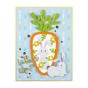 Spellbinders March 2020 Small Die of the Month is Here – 24 Carrot #NeverStopMaking #SpellbindersClubKits #DieCutting