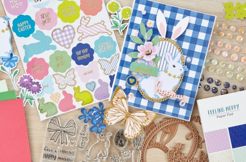 Coming Soon! Spellbinders March 2020 Clubs! Card Kit of the Month – Feeling Hoppy. Unboxing Video