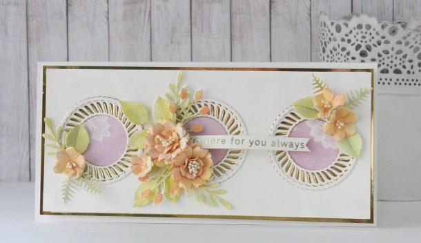 Spellbinders Elegant Twist Collection by Becca Feeken - Cardmaking Inspiration with Hussena Calcuttawala #spellbinders #NeverStopMaking #AmazingPaperGrace