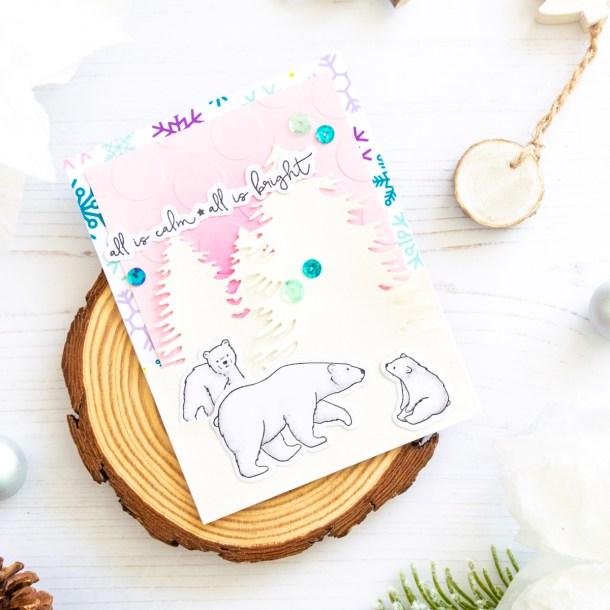 The Joy and Wonder Project Kit by Spellbinders & FSJ | Cardmaking Inspiration with Laura Volpes | Video tutorial #Spellbinders #NeverStopMaking #DieCutting #Cardmaking #ChristmasCardmaking