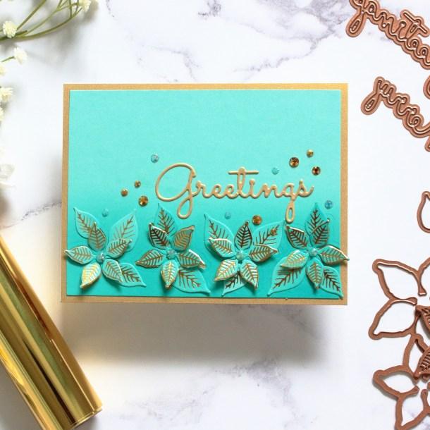 The Glimmering Christmas Project Kit by Spellbinders   Cardmaking Inspiration with Amanda Korotkova   Video tutorial #Spellbinders #NeverStopMaking #DieCutting #Cardmaking #ChristmasCardmaking #GlimmerHotFoilSystem
