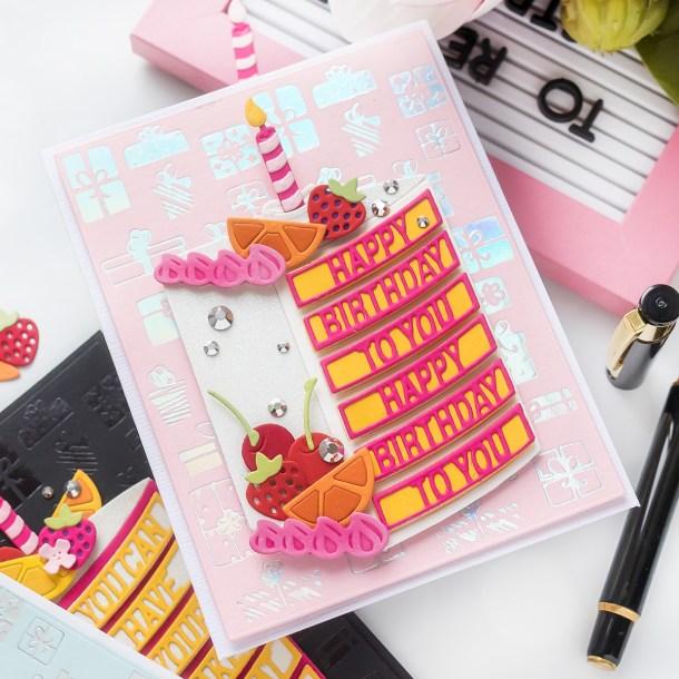 Spellbinders September 2020 Large Die of the Month is Here – Have Your Cake #Spellbinders #NeverStopMaking #Cardmaking