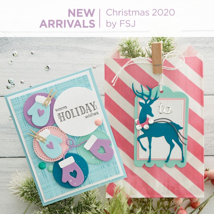 What's New from Spellbinders | FSJ Christmas 2020 Collection #FunStampersJourney #NeverStopMaking #Cardmaking