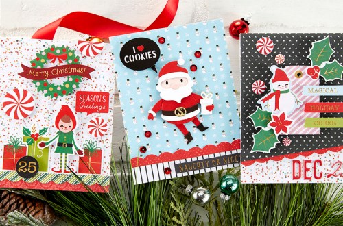 Spellbinders October 2020 Card Kit of the Month is Here – Dancin' Santa #Spellbinders #SpellbindersClubKits #Cardmaking