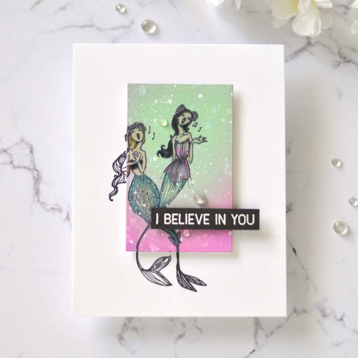 Spellbinders Jane Davenport Stamp Camp Collection Inspiration | 4 Ways to Use Beautiful Images on Cards with Therese Calvird #Spellbinders #NeverStopMaking #Stamping #Cardmaking