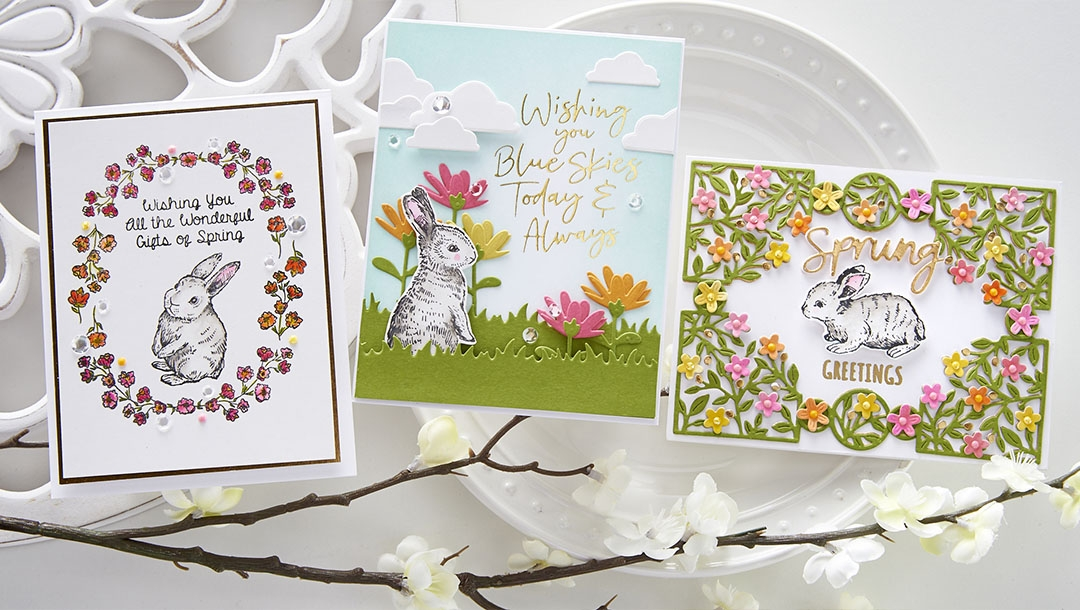 March 2021 Clear Stamp of the Month is Here – Wonderful Spring