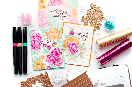 Yana's Blooming Birthday Card Set with Lea Lawson