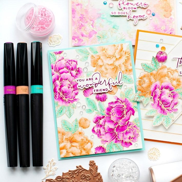 Yana's Blooming Birthday Card Set with Lea Lawson