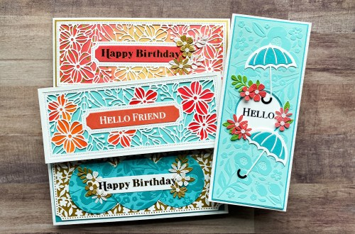 Spellbinders Slimline Collection – Timeless Elegance with Jean