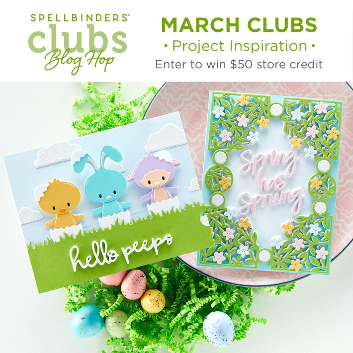 March 2021 Clubs Inspiration Blog Hop + Giveaways