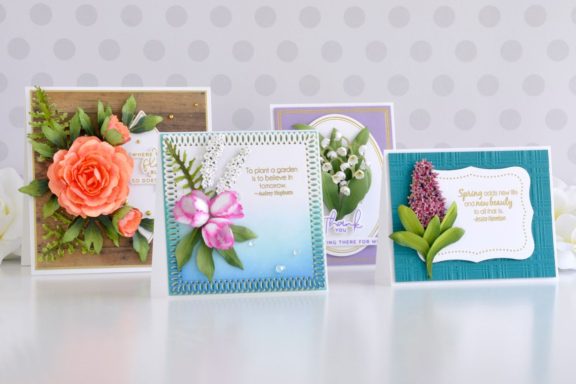 Susan's Spring Flora Collection – Card Inspiration with Annie Williams