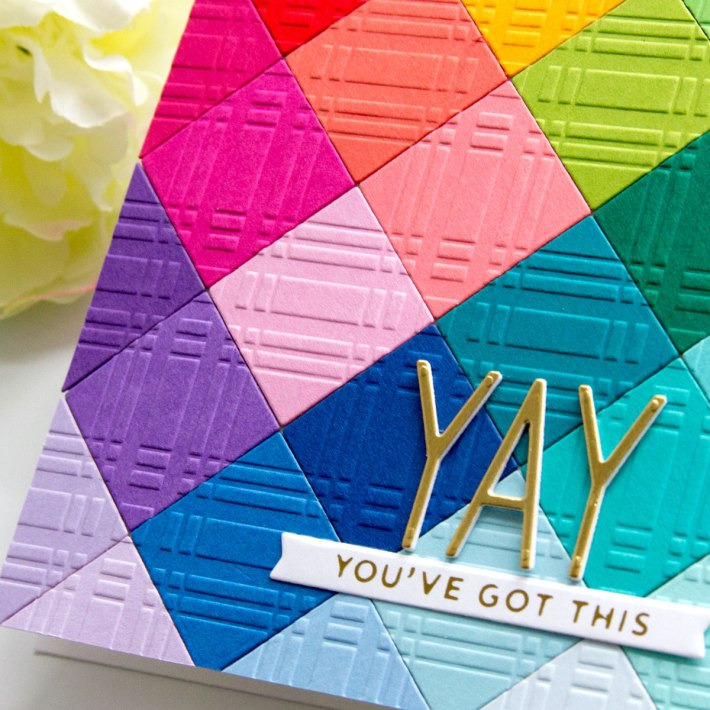 Embossing Folders Collection – Pattern Play with Jean