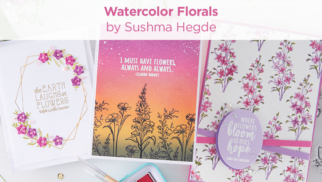 Watercolor Florals Collection Inspiration Round-Up