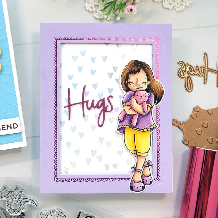 Inspiration Featuring the Delightful Darlings Collection with Andrea