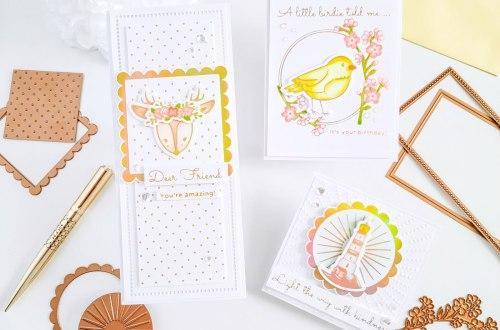 Sweet Cardlets II Inspiration with Yasmin Diaz