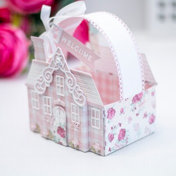 July 2021 Amazing Paper Grace Die of the Month is Here – Pop Up 3D Vignette Home Sweet Home