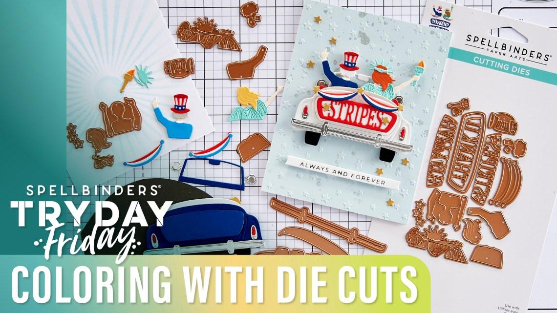 Coloring with Die Cuts | Spellbinders Live