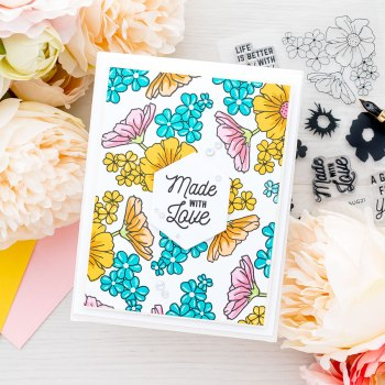 August 2021 Clear Stamp of the Month is Here – Hex Tile Stamps