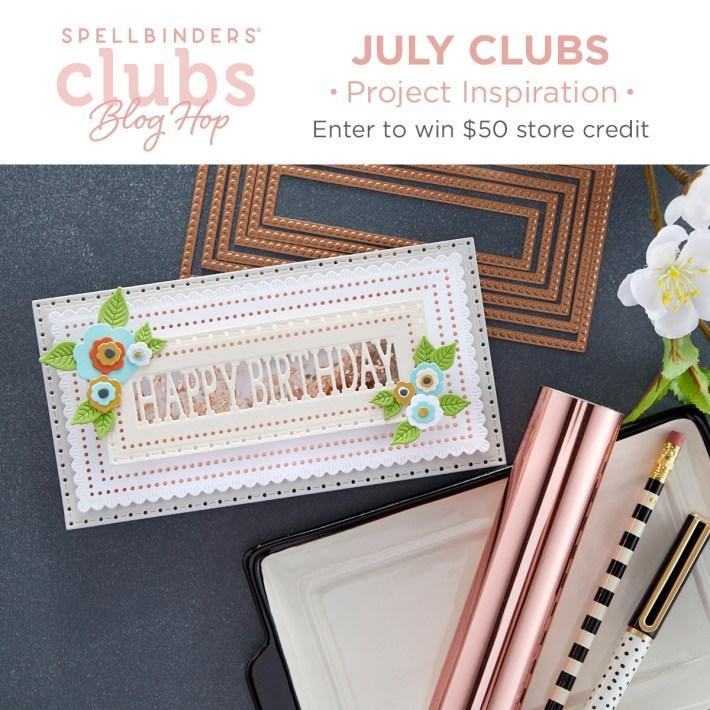 July 2021 Clubs Inspiration Blog Hop + Giveaways