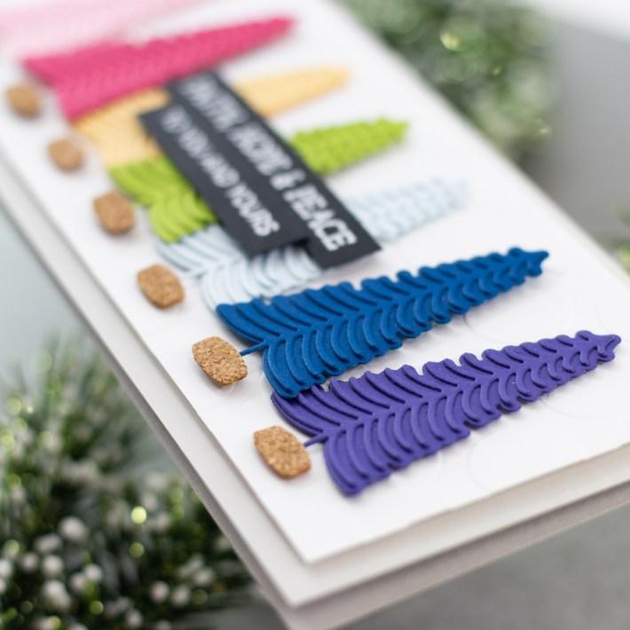 Slimline Holiday Collection Inspiration with Koren Wiskman