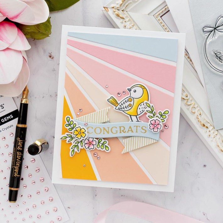 September 2021 Clear Stamp of the Month is Here – A Little Bird Told Me