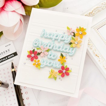 September 2021 Small Die of the Month Is Here – Layered Mix & Match Sentiments