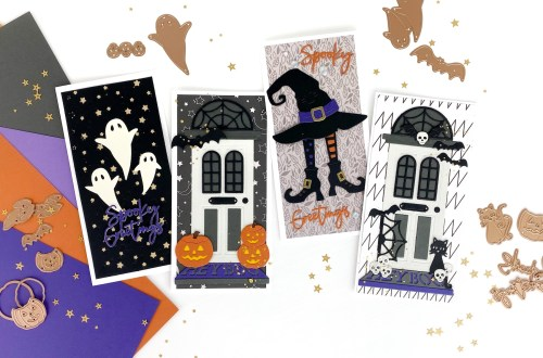 Spooky Greetings | Halloween Mini Slimlines with Suzanna Hansen