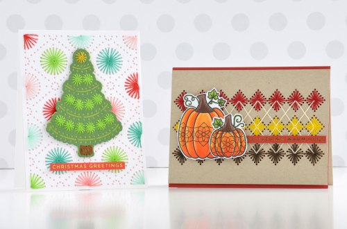 Merry Stitchmas Collection – Stitched Card Inspiration with Annie Williams