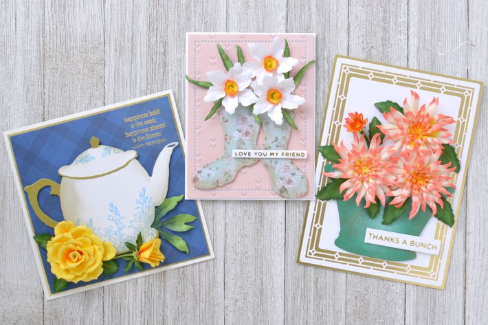 Susan's Garden Club Collection – Floral Card Trio with Annie Williams