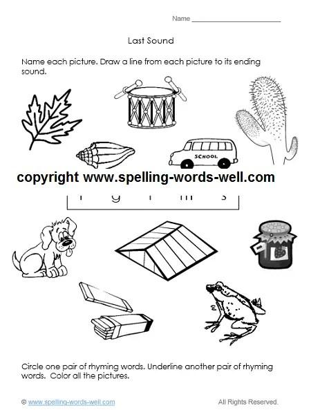 A Kindergarten Worksheet for Learning Fun!