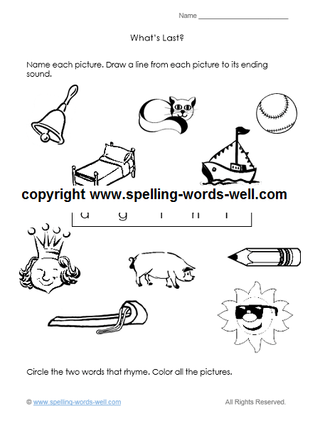 All Worksheets » Saxon Phonics And Spelling K Worksheets